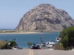 Close-up Morro Rock