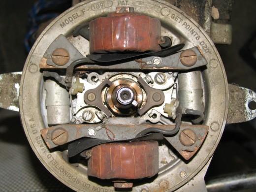 Flywheel Removed