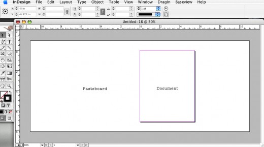 Making a bigger workspace by increasing the size of the pasteboard