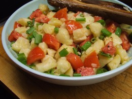 This is my most requested signature dish.  It holds up well for summer picnics.