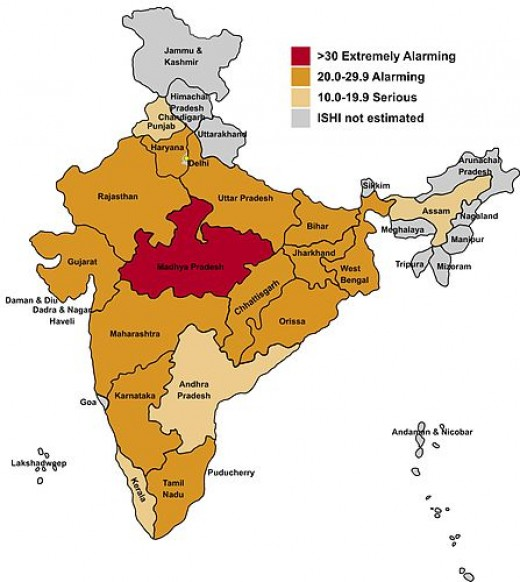 Hunger Map of India