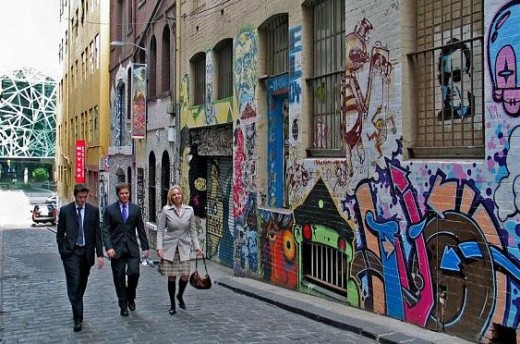 Hoiser lane, Melbourne CBD