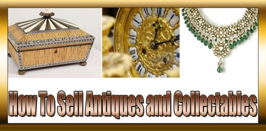 selling antiques and collectables
