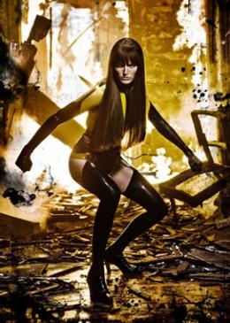 Silk Spectre II played by Carla Gugino