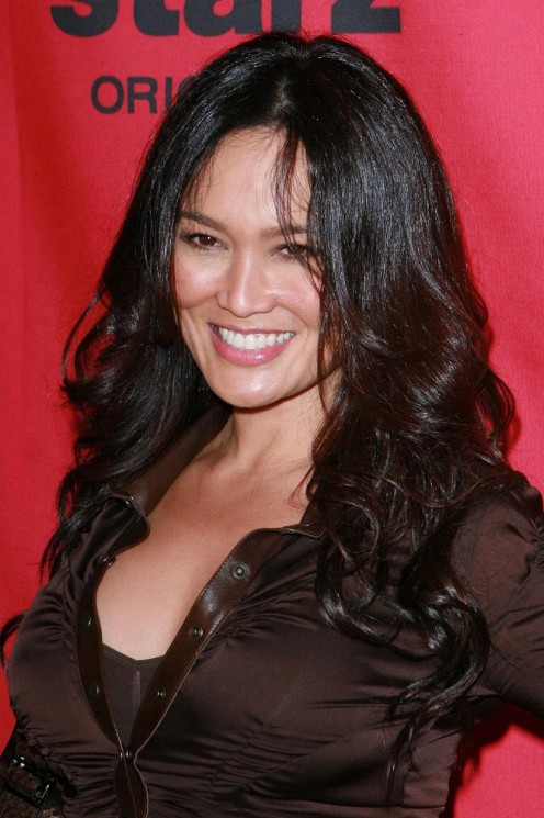 Hawaiian, Chinese, Spanish and Filipino ancestry combine to make actress and singer Tia Carrere one of the most beautiful women in the world.