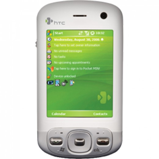 HTC Trinity cell phone. Also known as the P3600.