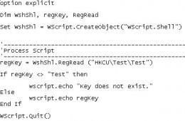 VBScript Code