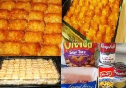 How to Make Tater-Tot Casserole - Southern Style