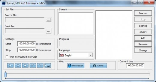 avi and mkv audio trimmer from solveig multimedia