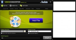 you can convert your videos and get the audio data you want with this foxtab video converter application