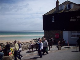 sea front St. Ives