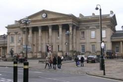 Huddersfield railroad station