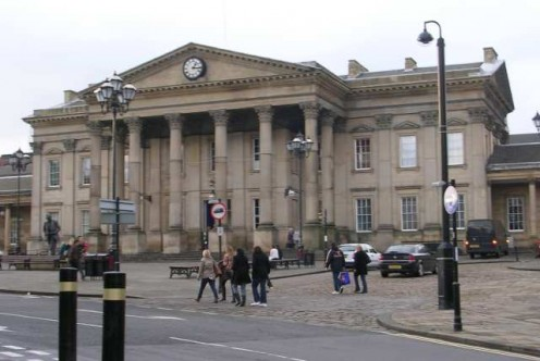 Huddersfield railroad station