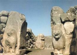 Lion Gate, c. 1400 B.C.E., Boghazkoy, Turkey