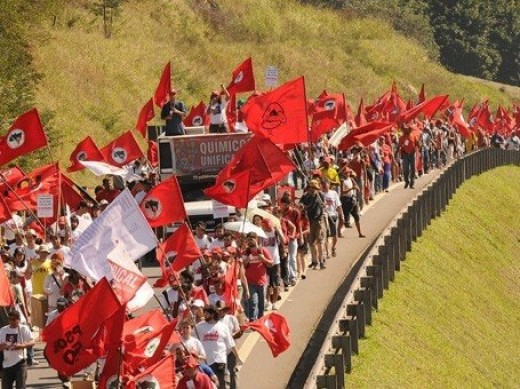 """Brazils Landless Workers Movement, or in Portuguese Movimento dos Trabalhadores Rurais Sem Terra (MST), is the largest social movement in Latin America with an estimated 1.5 million landless members organized in 23 out 27 states."