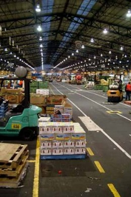 Footscray wholesale vegetable and fruits market