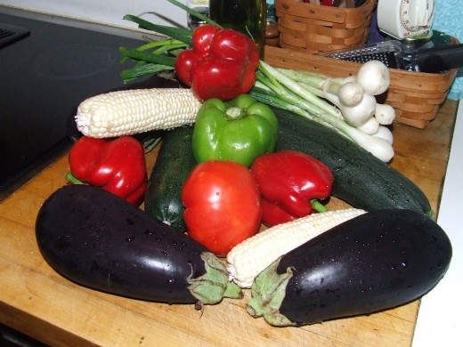Mixed Fresh Vegetables