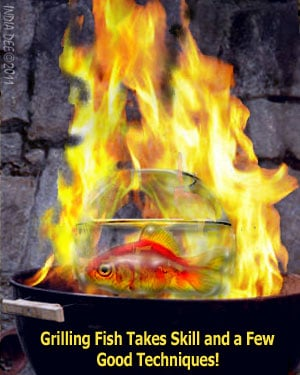 Grilling fish is not for the faint of heart, but when following these easy tips, even a novice can create beautifully BBQ'd fish fillets! Be sure to see GRILLING SHORTCUT #4.