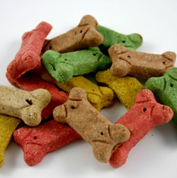 Assortment of Milkbone Treats.  Picture from Google Images).