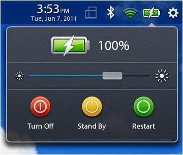 blackberry playbook battery life