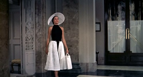 "Grace Kelly in an Edith Head classic from ""To Catch a Thief"""