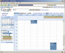 Google Calendar is a robust, free, online app that can do a lot of things, but setting up automatic notifications requires doing a little programming legwork yourself.  CCL C
