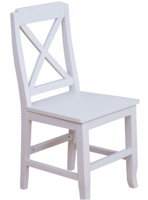White Painted Chair.