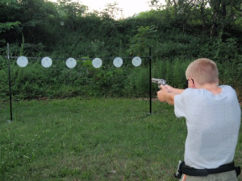Need a little target practice - get out your old plates? Not only did you get good use out of them, but you now have a reason to buy new ones!