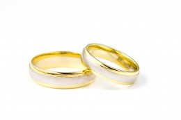 Wedding Rings represent the  circle of unending love and commitment.