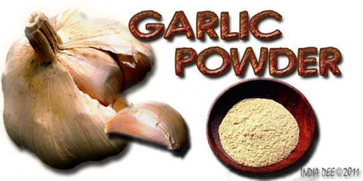 Whether in clove or powder form, GARLIC is the worlds most well known seasoning. It also has many medicinal attributes.