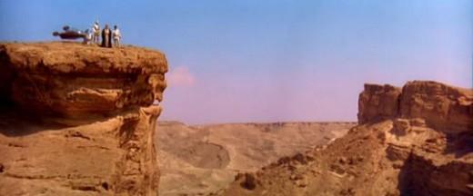 """""""Pictured: Tatooine's amusement park."""""""