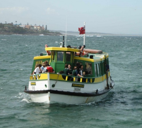 The Bundeena Ferry was just one boat experience among many