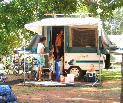 Our neighbours in Broome - Typical modern Aussie family - Mixed race, liberal-minded, educated, freedom loving and adventurous.