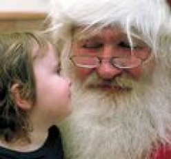 Lapland Holidays in North Pole or Sunny Spain Climate Vacation for Santa Claus?