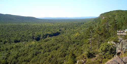 Porcupine Mountains Wilderness State Park, Michigan.