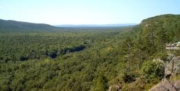 Porcupine Mountains Wilderness State Park, Michigan.