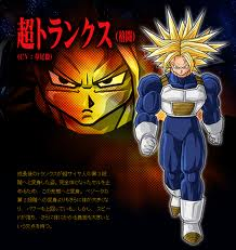 3rd-Grade Super Saiyan Trunks (I couldn't get one with 2nd-Grade SS Vegeta or with Goku in this form)