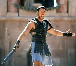 'Are you not entertained?'