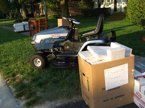 The Lawn Mower was sold!