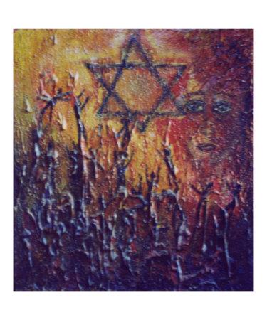 Holocaust - Mikhail Onanov. 1996. Oil on canvas.