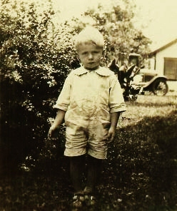 My dad as a little guy