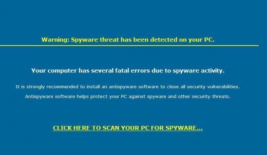 Trojan Hijacked Desktop Background