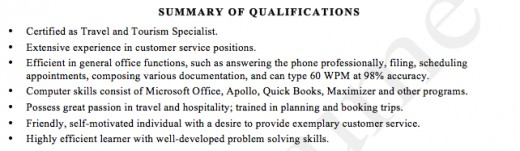 r sum writing how to write a summary of qualifications