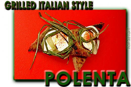 Grilled Italian Style Polenta is a great starter dish, side dish, and even a great vegetarian main course!
