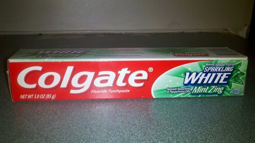 Name brand toothpaste I bought at the dollar store for $1