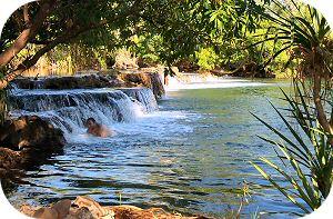 Mataranka Falls