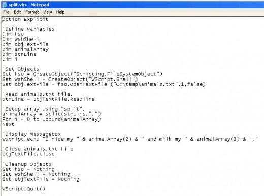 split Code