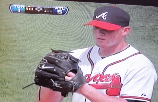 I had the house to myself tonight, so I watched a re-run of the Braves beating the Blue Jays.