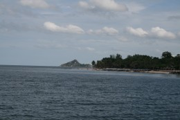 Hua Hin from the fishing pier
