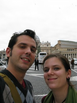 We're in Rome!